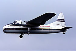 British United Bristol Freighter