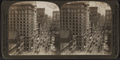 Broadway north from the post office building, New York, U. S. A., by H.C. White Co. 2.png