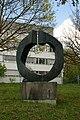 Bronzeplastik Grand Astre 1⁄3 (André Ramseyer 1966) 05.jpg