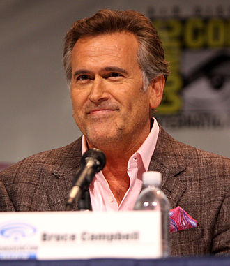 Bruce Campbell - Campbell at WonderCon in 2013