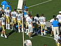Bruins sideline section at UCLA at Cal 10-25-08.JPG