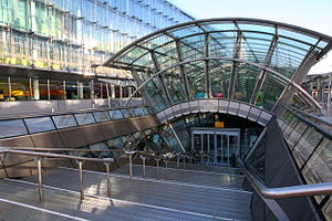 Brussels-Luxembourg railway station - Image: Brussels Luxembourg Train Entry