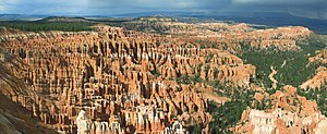 Bryce Canyon National Park is a major tourist attraction