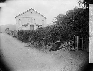 Bryn-crug Chapel, Tywyn with Nain Griff Brynglas