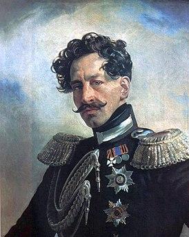 портрет кисти Карла Брюллова, 1837 г.