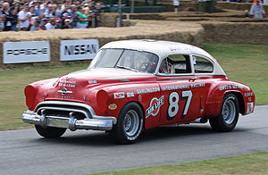 Oldsmobile 88 - Buck Baker's 1949 Oldsmobile Rocket 88 stock car