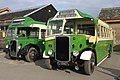 Buckfastleigh station - Southern National 1613 LTA772 and Western National 137 FJ8967.JPG