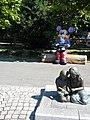 Bucuresti, Romania. Oraselul copiilor. Miky Mouse si copiii.jpg