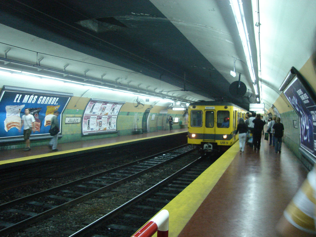 Jujuy buenos aires underground wikipedia for Puertas de aluminio buenos aires