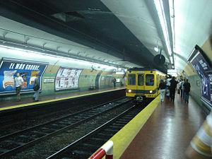 Jujuy (Buenos Aires Underground) - Image: Buenos Aires Subte Jujuy 1