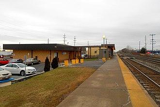 Buffalo–Depew station - Buffalo–Depew station in 2014