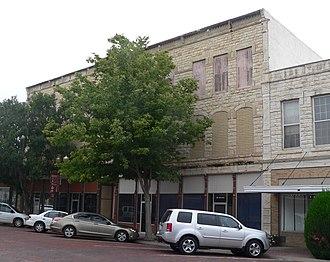 National Register of Historic Places listings in Finney County, Kansas - Image: Buffalo Hotel (Garden City, KS) (1)