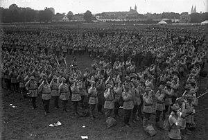 First Austrian Republic - Heimwehr parade, 1928