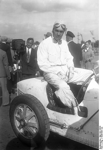 1930 Grand Prix season - Heinrich-Joachim von Morgen won the Eifelrennen at the Nürburgring. He is pictured here at the same track in 1928. He would die in an accident at the Ring in 1932.