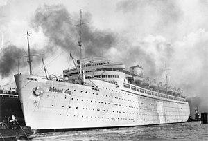 Robert Ley - The KDF-Schiff Robert Ley, March 1939
