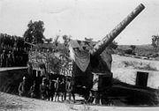 Bundesarchiv Bild 183-R36225, Türkei, Dardanellen, Schweres Geschütz