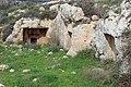 Burial chambers, cut in rock at Kh. Jurish.jpg