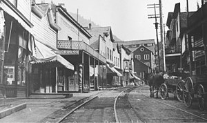 Burke, Idaho - Image: Burke, Idaho c. 1891