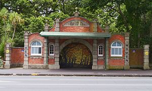 Karangahape Road - Symonds Street tram shelter