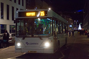 Veolia Transport - MyBus Caetano Slimbus bodied Dennis Dart in St Helier in December 2012