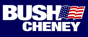 George W. Bush presidential campaign, 2000 - Image: Bush Cheney 2000