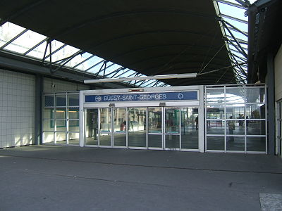 Station Bussy-Saint-Georges