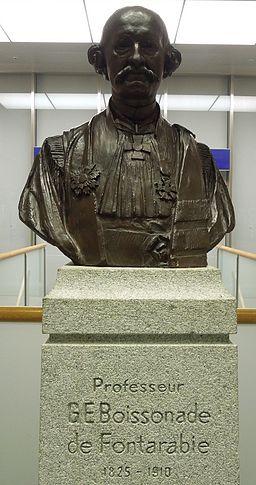 Bust of Boissonade
