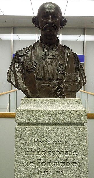 Gustave Boissonade - Bust of Boissonade on the campus of Hosei University