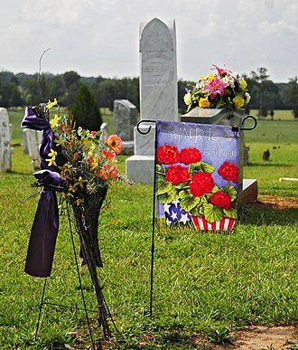 National Register of Historic Places listings in Saluda County, South Carolina - Image: Butler Family Cemetery