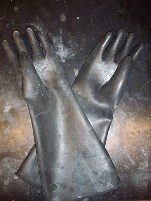 Butyl rubber - Butyl rubber gloves