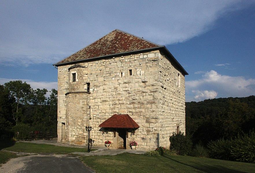Donjon de Côtebrune (Doubs).