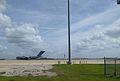 C-17 in preparation for Obama's Visit (30302778110).jpg