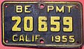 CALIFORNIA 1955, BOARD OF EQUALIZATION SUPPLEMENTAL PLATE -USED ON INTERSTATE TRUCKS - Flickr - woody1778a.jpg