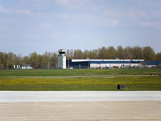Highland Heights, Ohio - Control tower at the Cuyahoga County Airport