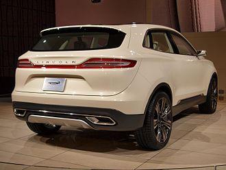 Lincoln MKC - Lincoln MKC concept, rear 3/4 view