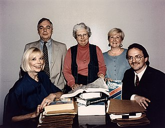Aldrich Ames - The CIA mole hunt team, circa 1990. From left to right: Sandy Grimes, Paul Redmond, Jeanne Vertefeuille, Diana Worthen, Dan Payne.