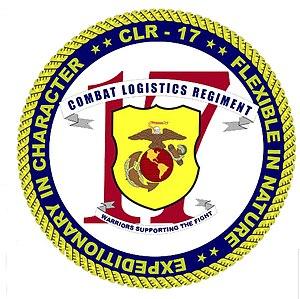 Combat Logistics Regiment 17 - CLR-17 insignia