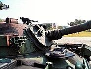 CM-12 Tank Turret Font Near View 20120211