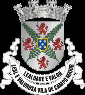 Campo Maior, Portugal - Image: CMR