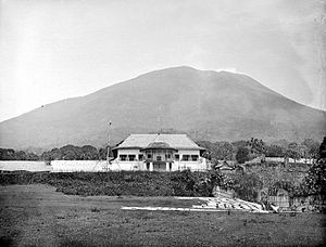Sultanate of Ternate - Kraton (palace) of the Sultan of Ternate