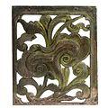 COLLECTIE TROPENMUSEUM Vierkant paneel met opengewerkt patroon van lotusbloem en bladranken TMnr 1772-832.jpg