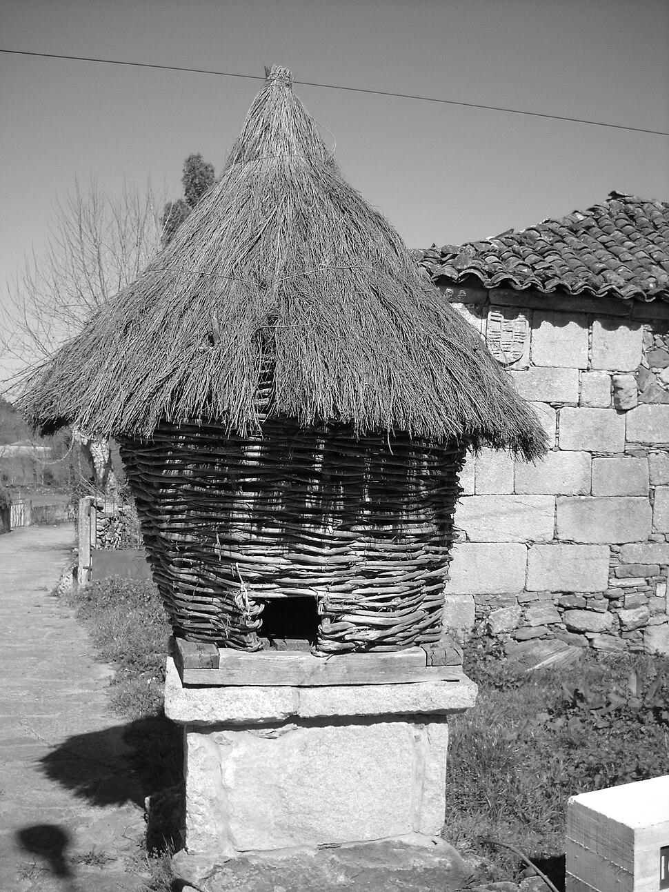 Cabazo tradicional en Melide.