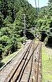 Cable Car from Gokurakubashi to Koyasan (44172828521).jpg