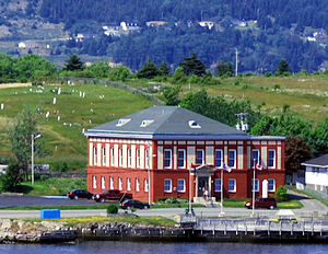 Bay Roberts - The Restored Western Union Cable Company Office in Bay Roberts