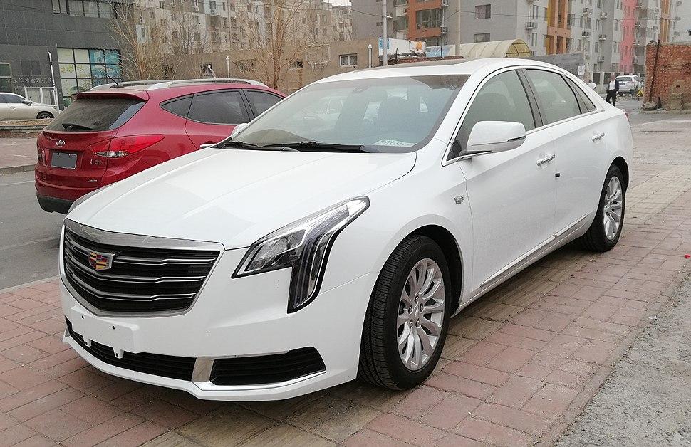 Cadillac XTS facelift 01 China 2018-03-28