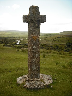 Dartmoor crosses - Cadover Cross