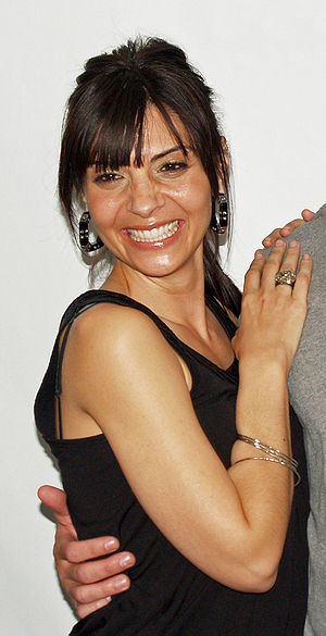 Callie Thorne - Thorne at the premiere of Killer Movie at the Tribeca Film Festival in 2008.