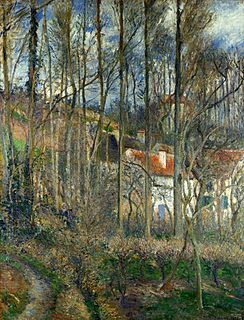 painting by Camille Pissarro