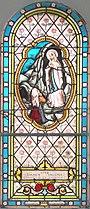 Camou (Camou-Cihigue, Pyr-Atl, Fr) vitrail Ste Bernadette.JPG