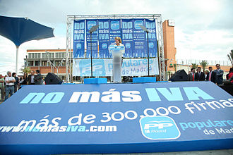 "Value-added tax - 4 May 2010 ""Campaña no más IVA"" in Spain"